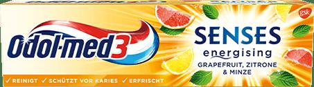 Odol-med3 Senes Grapefruit Zahnpasta.