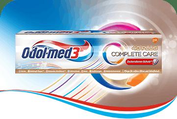 Odol-med3 Complete Care 40 Plus Zahnpasta.