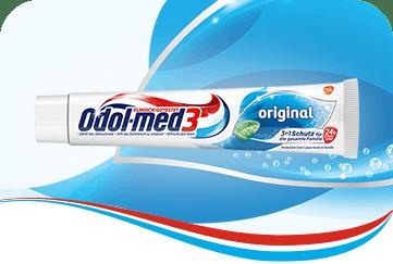 Odol-med3 Original Zahnpasta.