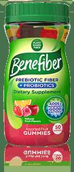 Benefiber® Prebiotic Fiber +  Probiotics Gummies