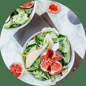 Fruits on Salad