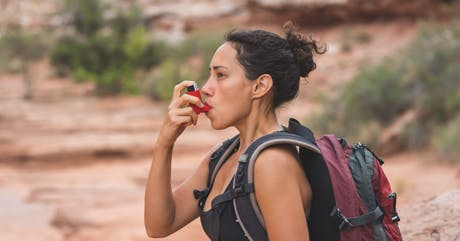 Life with asthma can be active and full if managed properly