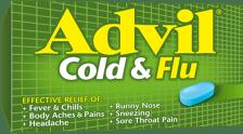Advil Cold & Flu package design