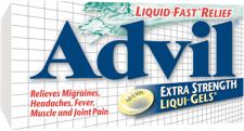 Advil Extra Strength Liqui-Gels® package design