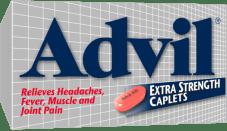 Advil Extra Strength Caplets package design