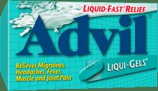 Advil Liqui-Gels package design