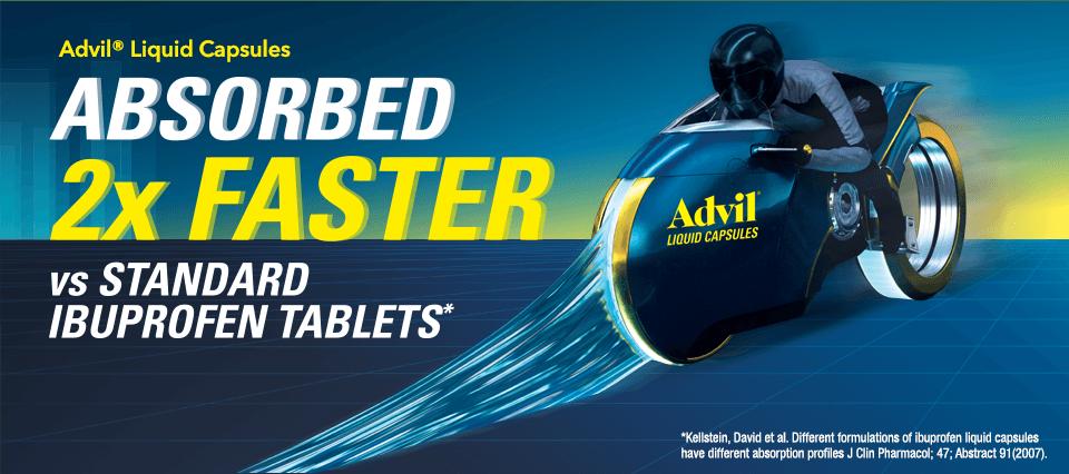 Advil® Liquid Capsules
