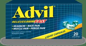Advil Liquid Capsules 20s