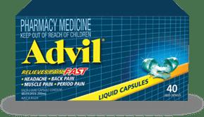 Advil Liquid Capsules 40s