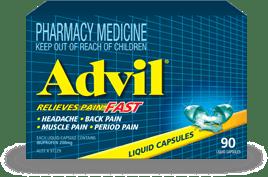 Advil Liquid Capsules 90s