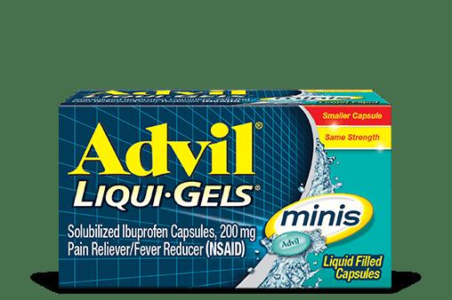 Advil Liqui-Gels minis