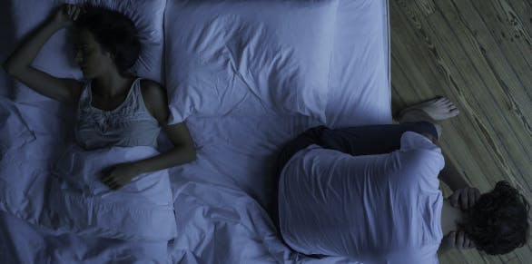 Getting sleep With a restless partner   Advil PM