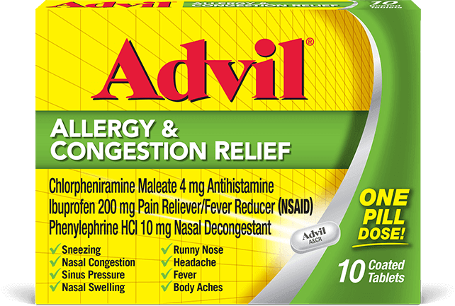 Advil Allergy & Congestion Relief