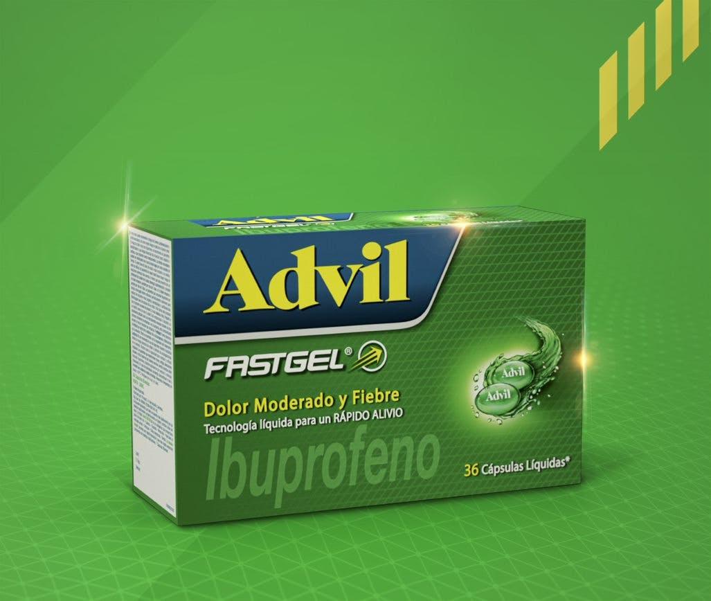 Advil fastgel