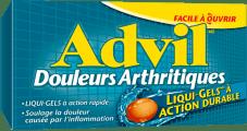 Advil Douleurs arthritiques package design