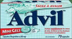 Advil mini-gelspackage design