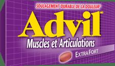 Advil Muscles et Articulations package design