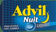 Advil Nuit package design