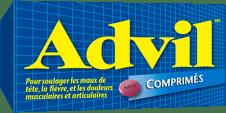Comprimés Advil package design