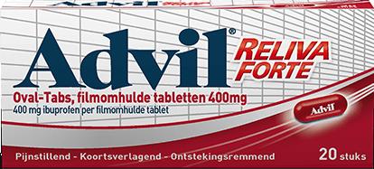3D FRONT Advil RELIVA FORTE 400mg