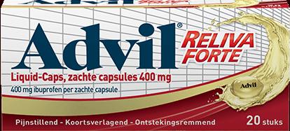 Advil Reliva Forte Liquid Caps 400mg