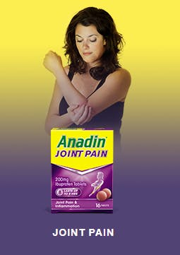 ANADIN FOR JOINT PAIN