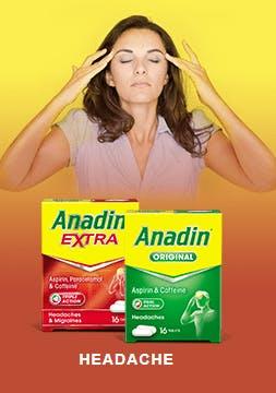 ANADIN FOR HEADACHE