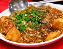 高鈣食譜 - 碎牛肉豆腐