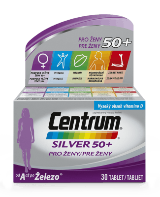 Centrum Silver 50+ pro ženy