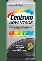 Centrum Advantage package design