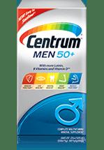 Centrum Men 50+ package design