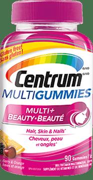 Centrum MultiGummies package desig