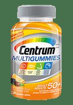 Centrum MultiGummies package design