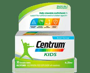 Product visual of Centrum Kids