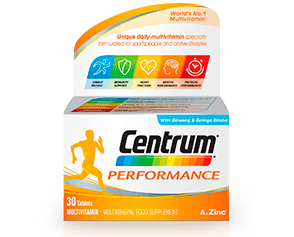Product visual of Centrum Performance