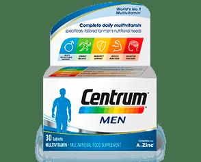 Product visual of Centrum Men