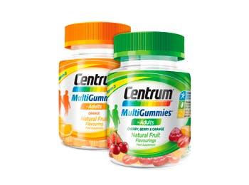 Product visual of Centrum MultiGummies