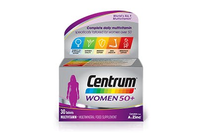 Product visual of Centrum Women 50+