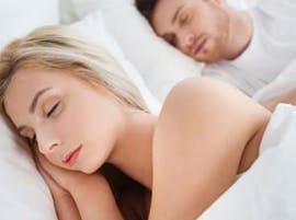 Getting enough sleep and woman sleeping thumbnail