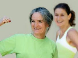 Healthy living and woman smiling thumbnail