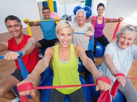 Healthy bones and people exercising thumbnail