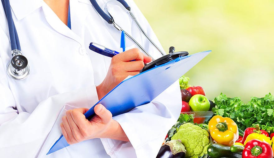 Healthy food and doctor thumbnail