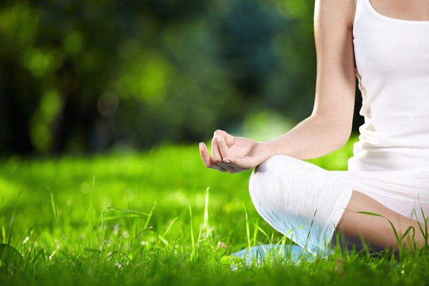 Mindfulness exercise and woman meditating thumbnail