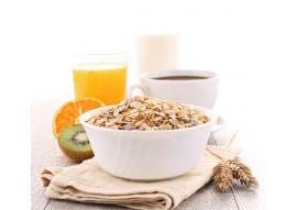 Céréales du petit déjeuner enrichies en vitamines et minéraux