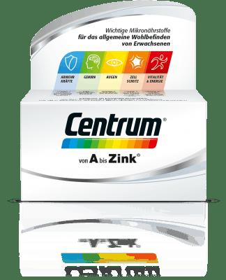 Produktabbildung von Centrum Von A bis Zink