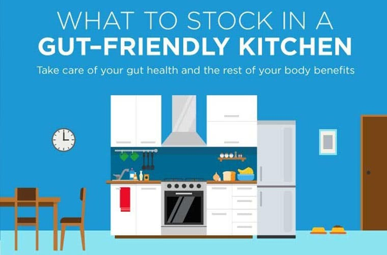 Here's What to Keep in a Gut-Friendly Kitchen