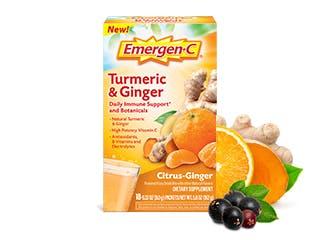 Package of Emergen-C Probiotics+ Orange