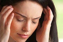 women with tension headache