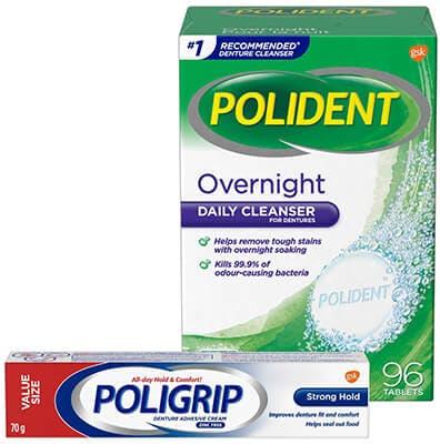 Polident & Poligrip Brand Cluster