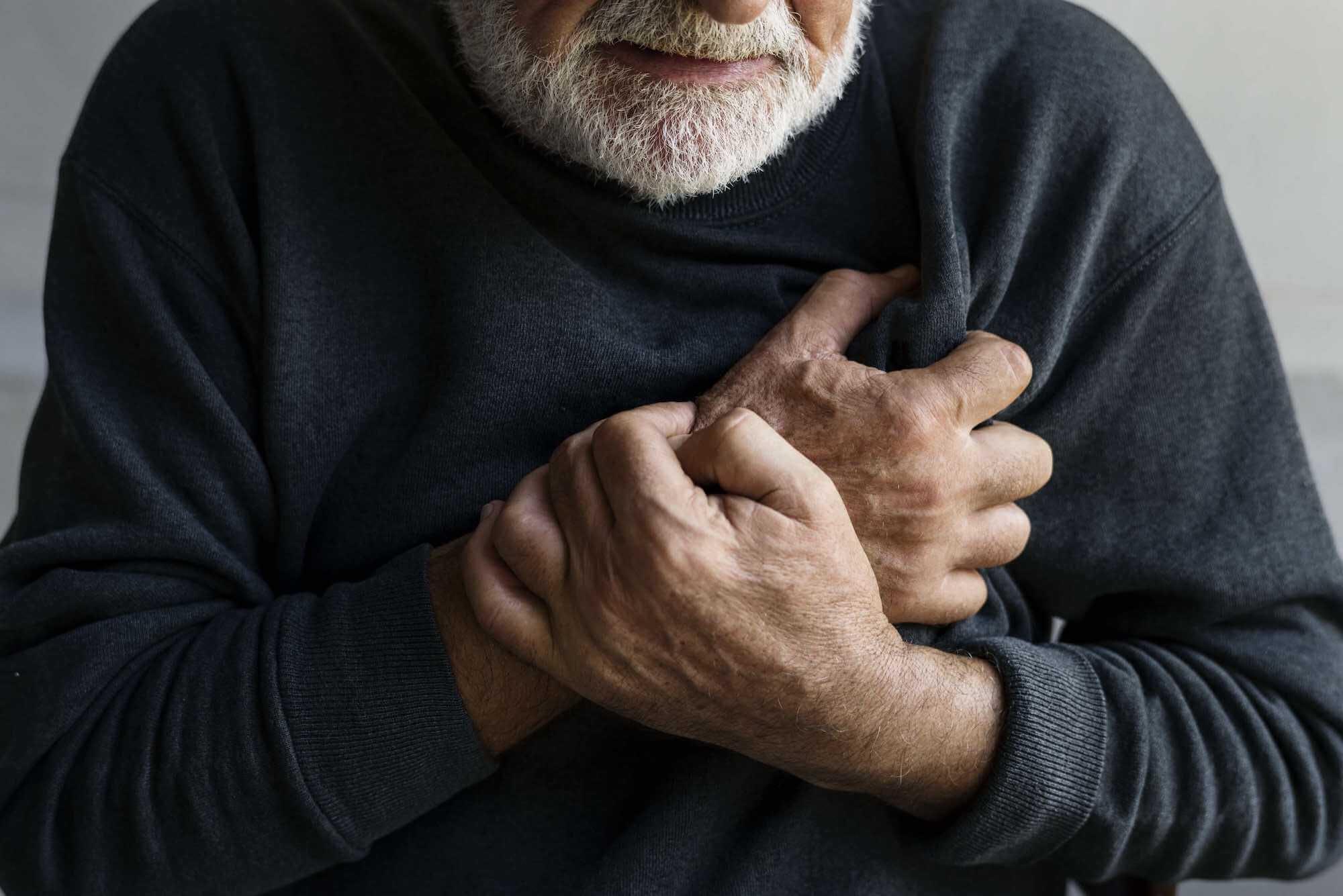 Zawał serca - ból w klatce piersiowej
